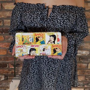 Kate Spade Archie Large Comics Continental Yellow